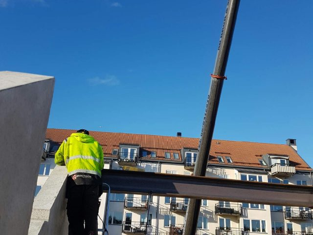 Stålmontage åt Stockholms byggkraft