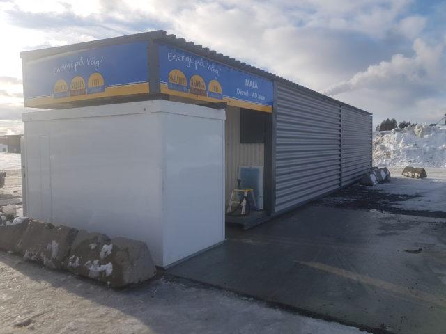 Tankstation Malå